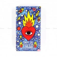 Carti Tarot Fournier, Tarot del Fuego by Ricardo Cavolo - Carti poker