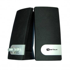 Boxe multimedia Serioux Pop, Negru/Argintiu