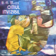 OMUL INVIZIBIL - H. G. Wells (DISC VINIL) - Muzica pentru copii