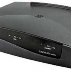 Router second hand ADSL CISCO 827H Modem/Router 1 x ADSL port, 4 x Ethernet port