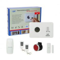 Aproape nou: Sistem de alarma wireless PNI SafeHouse PG300 comunicator GSM - Sisteme de alarma