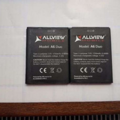 Acumulator Allview A6 Duo  nou original, Alt model telefon Allview, Li-ion