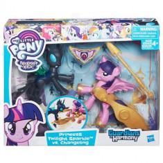 My Little Pony - Twilight Sparkle si Changeling - Figurina Povesti Hasbro