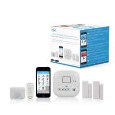 Resigilat : Kit casa inteligenta PNI SmartHome SM400 cu functie de sistem de alarm - Sisteme de alarma