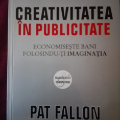 Creativitatea in publicitate Pat Fallon - Carte de publicitate