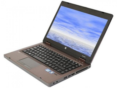 Laptop HP ProBook 6460b, Intel Dual Core B810 1.6 Ghz, 4 GB DDR3, 250 GB HDD SATA, DVDRW, WI-FI, Bluetooth, Card Reader, Display 14inch 1366 by 7 foto