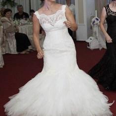 Rochie de mireasa Nanette+ Crinolină, Rochii de mireasa sirena
