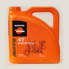 Repsol Moto Sintético 4T 10W-40- 4L 41509 - Ulei motor Moto