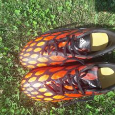 Ghete Fotbal Adidas Predator, Marime: 41.5, Culoare: Orange