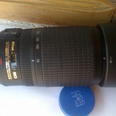 Obiectiv NIKON ED 70-300 mm VR IMPECABIL CA NOU! - Obiectiv DSLR