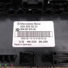 Tablou sigurante Mercedes W203 C Class cod 0035455201 - Sigurante Auto, Mercedes-benz, C-CLASS (W203) - [2000 - 2007]