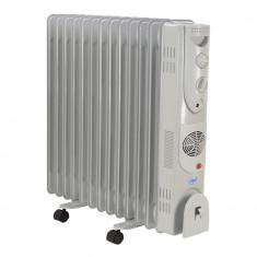 Resigilat : Calorifer electric cu ulei PNI Turbo Heat 2800W 13 elementi Ventilatie - Aeroterma