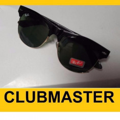 Ochelari RAY BAN de soare Clubmaster RB 4175 Negri - Ochelari de soare Ray Ban, Unisex, Negru, Pilot, Protectie UV 100%