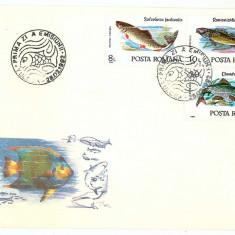 Romania ( 1278a ) - PESTI - 2 FDC covers - unused - 1992
