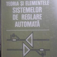 Teoria Si Elementele Sistemelor De Reglare Automata - D. Mihoc, S.st. Iliescu, 399948 - Carti Electrotehnica