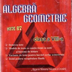 ALGEBRA, GEOMETRIE PENTRU CLASA A VIII A de ARTUR BALAUCA ED. TAIDA - Manual scolar all, Clasa 10, All, Matematica