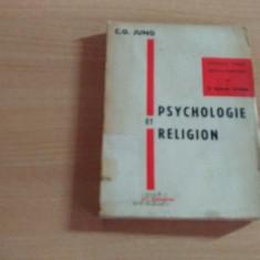PSYCHOLOGIE ET RELIGION-C.G.JUNG - Carte Psihologie
