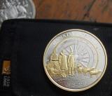 M. One dollar 2013 Canada, arctic exploration, argint, America de Nord