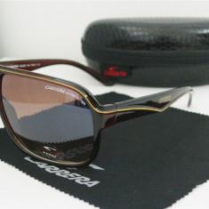 Ochelari de soare CARRERA UV 400, Unisex, Negru, Plastic, Polarizare, Polarizate