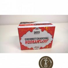 Carbuni Narghilea Cocos Hookah flame 24 buc