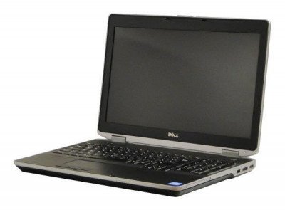 Laptop Dell Latitude E6530, Intel Core i5 Gen 3 3320M 2.6 GHz, 8 GB DDR3, 240 GB SSD NOU, DVDRW, WI-FI, 3G, Bluetooth, WebCam, Display 15.6inch 1 foto
