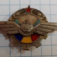 Insigna aviatie sportiva, RPR, argintiu