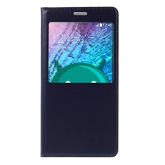 Husa Flip Cover Samsung Galaxy J5 (2015) - Dark Blue - Husa Telefon Nokia