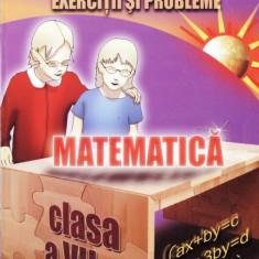 MATEMATICA. EXERCITII SI PROBLEME CLASA A VII A de GHEORGHE ADALBERT SCHNEIDER - Manual scolar all, Clasa 10, All