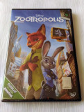 ZOOTROPOLIS (ZOOTOPIA) [2016] (DISNEY ORIGINAL, SIGILAT, ROMÂNĂ), DVD, Romana