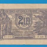 2 lei 1915 1 Vice Guvernator - Bancnota romaneasca