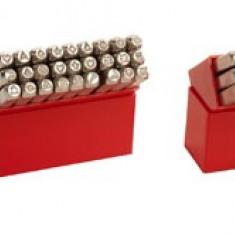 Poansoane cifre si litere 8mm, 36 bucati