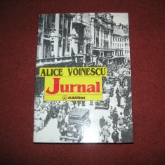 Jurnal - Alice Voinescu - Biografie