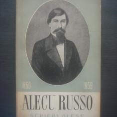 ALECU RUSSO - SCRIERI ALESE