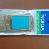 Vand carcasa completa si originala pt Nokia e52 gold