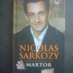 NICOLAS SARKOZY - MARTOR