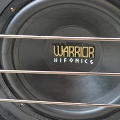 Subwoofer Auto Hifonics Warrior WR 12, peste 200W
