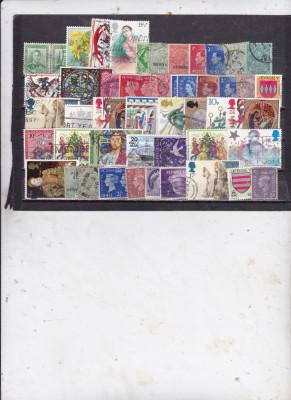 Anglia Diverse Oblit. dep. cutie 333 foto