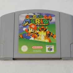 Joc consola Nintendo 64 N64 - Super Mario 64 - PAL - engleza Altele, Actiune, Toate varstele, Single player