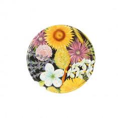 Capace 82 mm cu filet, decor floral, 10 bucati