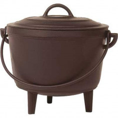 Ceaun din fonta 10 litri - oala, cratita