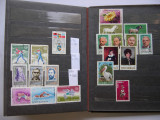 Clasor  Romania  1979 - 1985  cu   129  timbre diferite