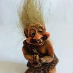 Statueta din ceramica, trol, troll, pitic, 6cm, decor - Bibelou