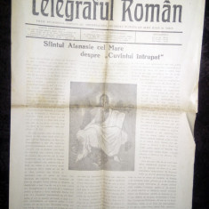 LOT 2 ZIARE / ZIAR VECHI BISERICESC - TELEGRAFUL ROMAN 1966 -