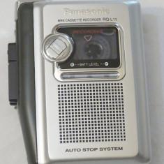 Reportofon portabil cu caseta Panasonic RQ-L11 + caseta Olympus