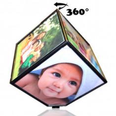 Rama foto cub rotativ - USB gadgets