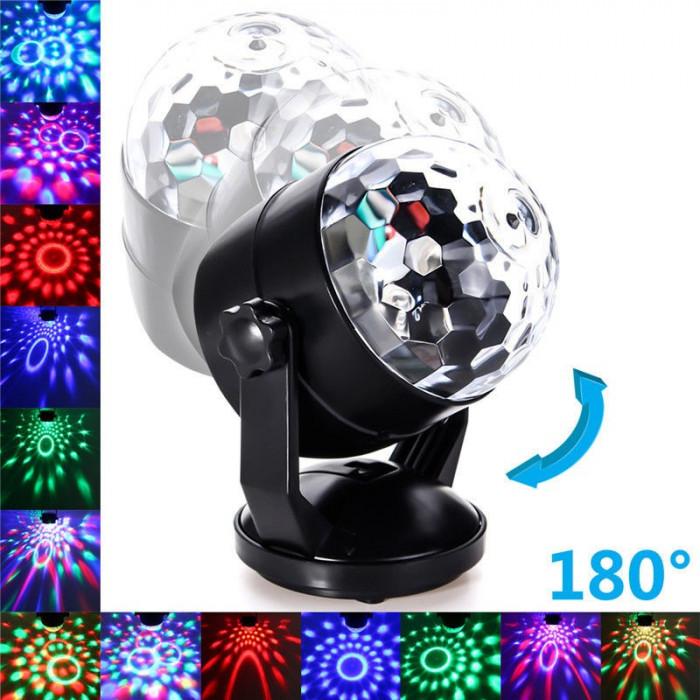 Glob lumini disco usb