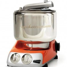Robot de bucatarie suedez portocaliu Ankarsrum 800 W