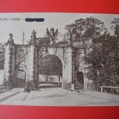 Carte postala - Alba Iulia - Poarta cetatii