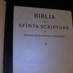 BIBLIA SAU SFINTA SCRIPTURA A VECHIULUI SI NOULUI TESTAMENT-1223 PG-