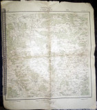 HARTA VECHE 1919  -CRISANA / HARTA CRISANEI